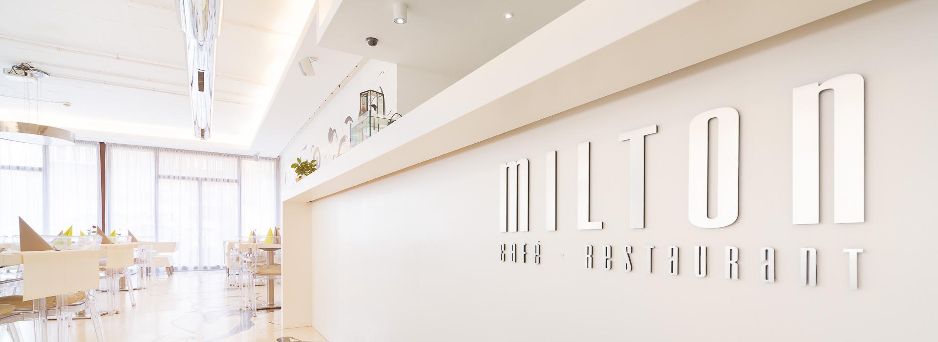 Reštaurácia Milton - priestory 1